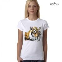 "Дамска соларна тениска ""Тигър"""