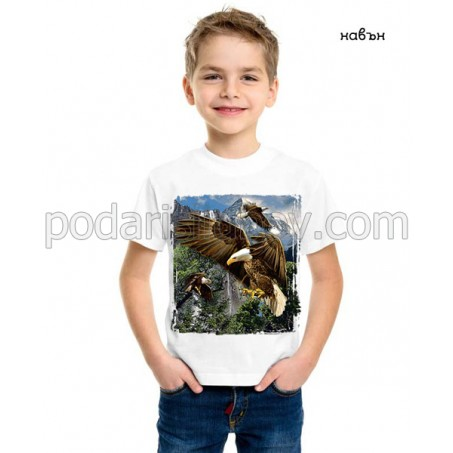 Детска соларна тениска Орел