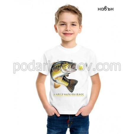 Детска соларна тениска риба Лаврак