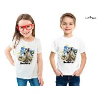 Детска соларна тениска Сурикати