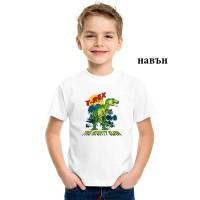 """Детска соларна тениска """"T-Rex"""""""