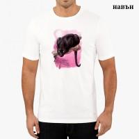 """Мъжка соларна тениска """"Черна пантера"""""""