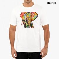 """Мъжка соларна тениска """"Слон"""""""