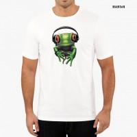 "Мъжка соларна тениска ""Рокерска жаба"""