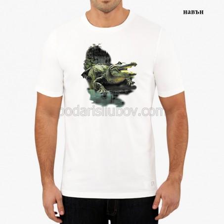 """Мъжка соларна тениска """"Алигатор"""""""