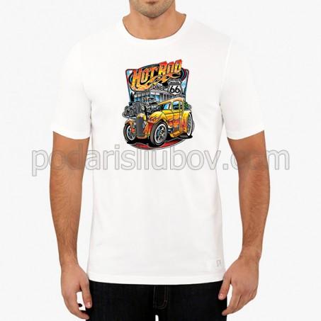 """Мъжка соларна тениска """"Кола"""""""