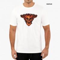 """Мъжка соларна тениска """"Запалващ се ад"""""""
