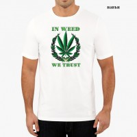 """Мъжка соларна тениска """"We trust"""""""