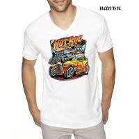 """Мъжка соларна тениска """"Hot Rod"""""""