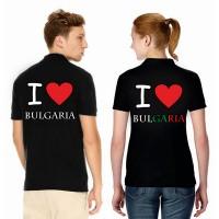 Дамска/мъжка тениска Аз обичам България