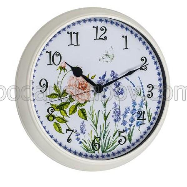 Стенен часовник Лавандула