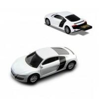 Флашка Audi R8 V10,8 GB, бял цвят