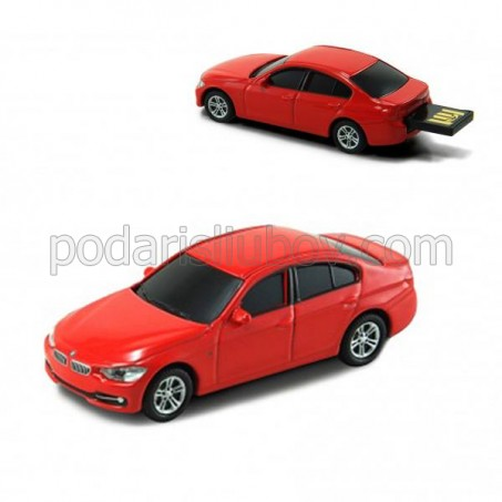 Флашка BMW 335I, 8 GB, червен цвят