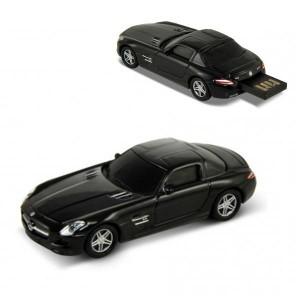 Флашка Mercedes Benz SLS AMG, 8 GB, черен цвят