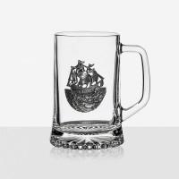 Халба за бира Кораб 620мл