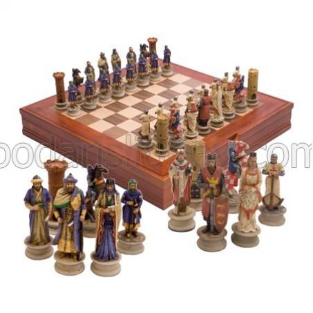 Дървен шах Кръстоносци