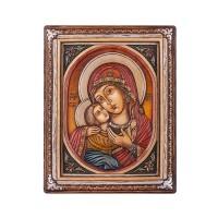Икона - Богородица, Рилски манастир 19х15см