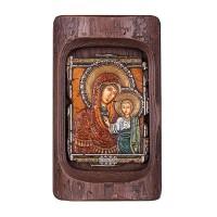 Икона - Богородица с младенеца, 24х14см