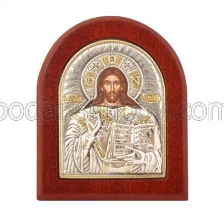Икона - Исус Христос, 7,5-9,2см