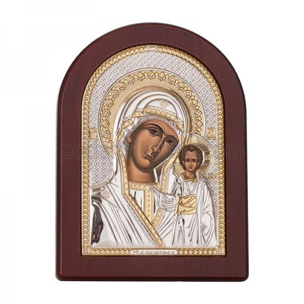 Икона - Казанска Богородица,12х16см