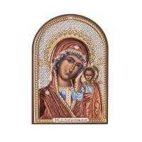 Икона - Казанска Богородица, 7,5х11см