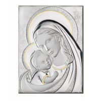Икона - Мадона и детето, 22*27.5 см