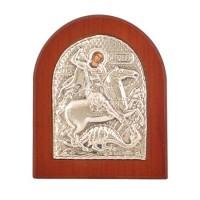 Икона - Свети Георги победоносец, 7,5*9,2см