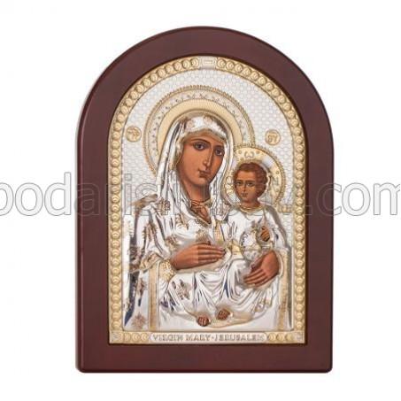 Икона - Йерусалимска Богородица,15х20см