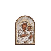 Икона - Йерусалимска Богородица, 7,5x11см