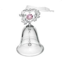 Мини сувенир камбанка със сърце