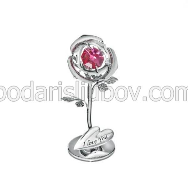 Мини сувенир роза