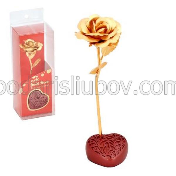 Златна роза, 24 карата - сувенир