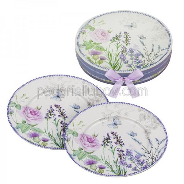 Сет от две чинии Лавандула в подаръчна кутия
