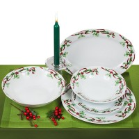 Сет за хранене Коледа, 20 части