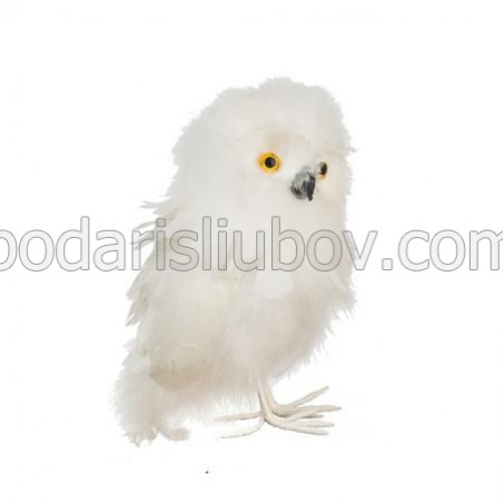 Коледна животинка - Бухал, 19см