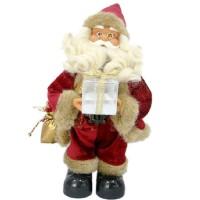 Дядо Коледа музикален, 28см
