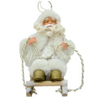Дядо Коледа с шейна, 18 см