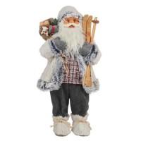 Дядо Коледа със ски, 61см