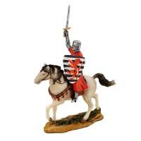Статуетка Кръстоносец на кон