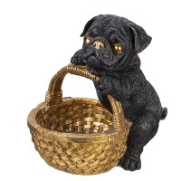Статуетка куче мопс