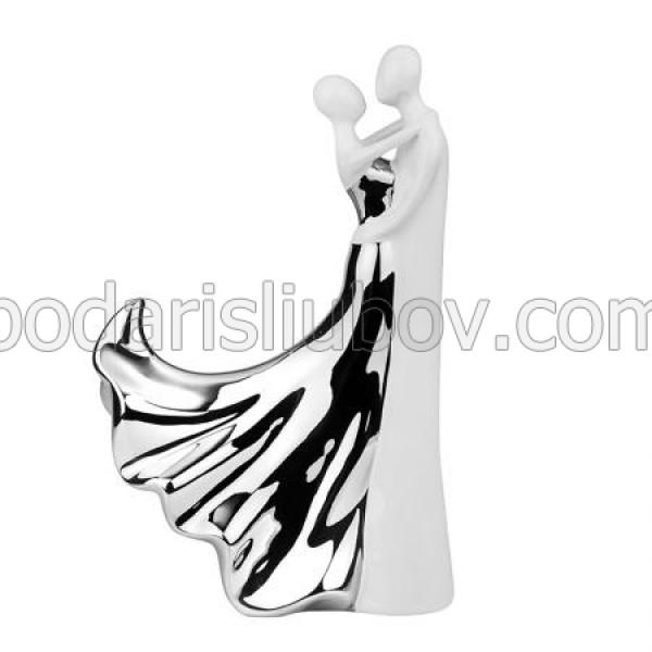 Керамична статуетка прегръдка