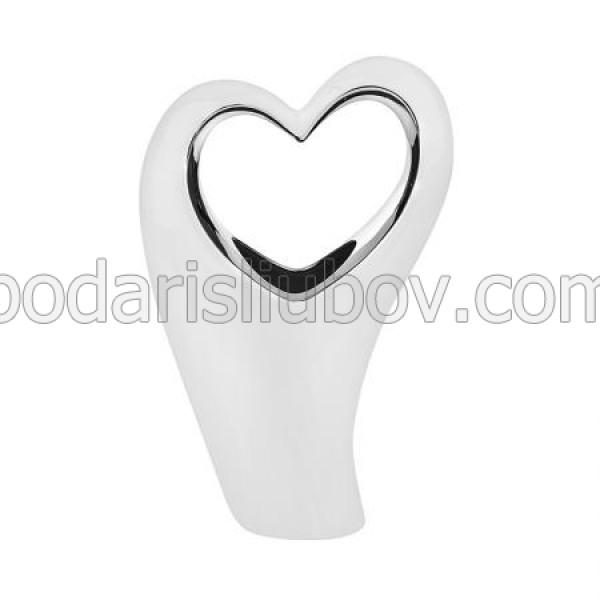 Керамична статуетка сърце