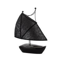 Настолна лампа, с основа статуетка лодка