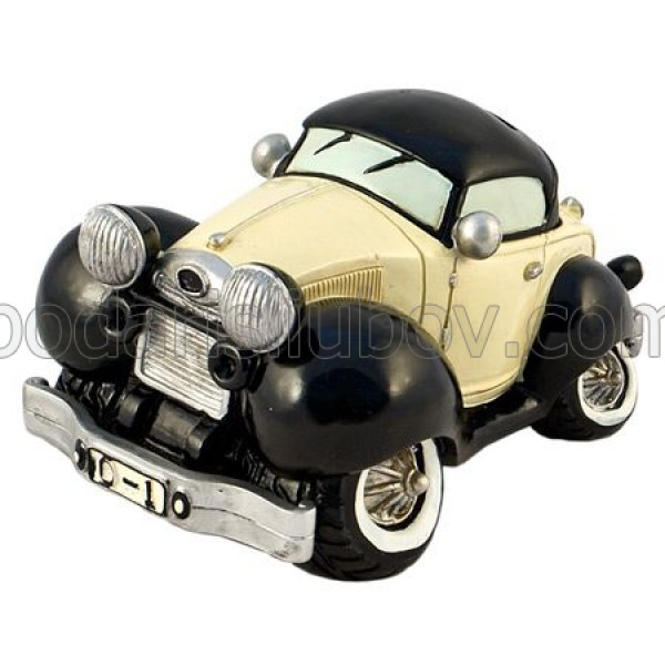 Статуетка - касичка Ford, черен цвят