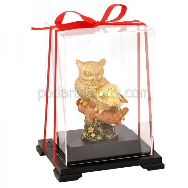 Златен бухал - символ на мъдрост и дълголетие