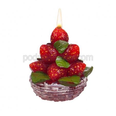 Ягодова свещ Букет