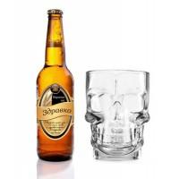 Бутилка Бира с етикет за имен ден и халба за бира