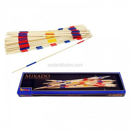 Дървена игра Микадо - гигант