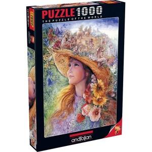 Пъзел Цветно момиче, 1000 части