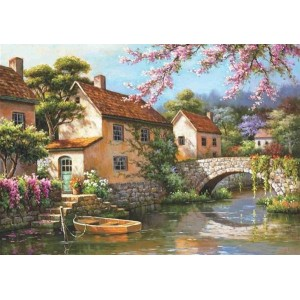 Пъзел Селски къщи, 1500 части